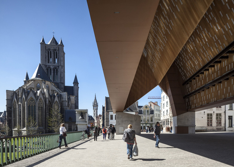 Buildings in Use: Market Hall Ghent by Marie-Josee van Hee and Robbrecht & Daem Architects - photographed by Tim Van de Velde