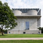 Abandoned concrete bunker converted into a green power plant by IBA Hamburg