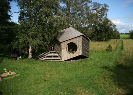 Aiamaja Noa sustainable living space by Jaanus Orgusaar