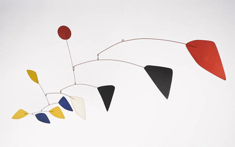Alexander Calder's Maripose mobile, 1960
