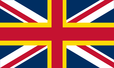 alternative designs proposed for the union jack flag without scotland - Flag Design Ideas
