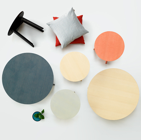 Note Design Studio designs side tables for Fogia