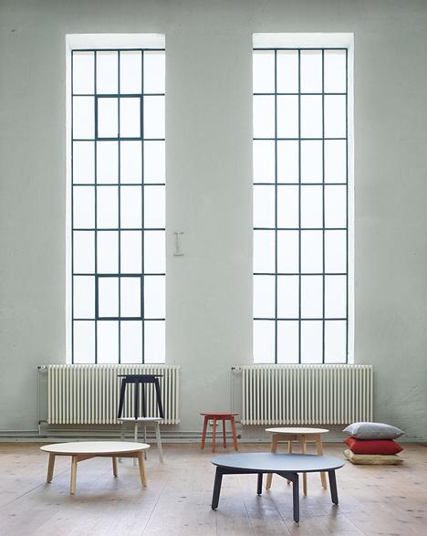 Note Design Studio designs side tables for Fogia