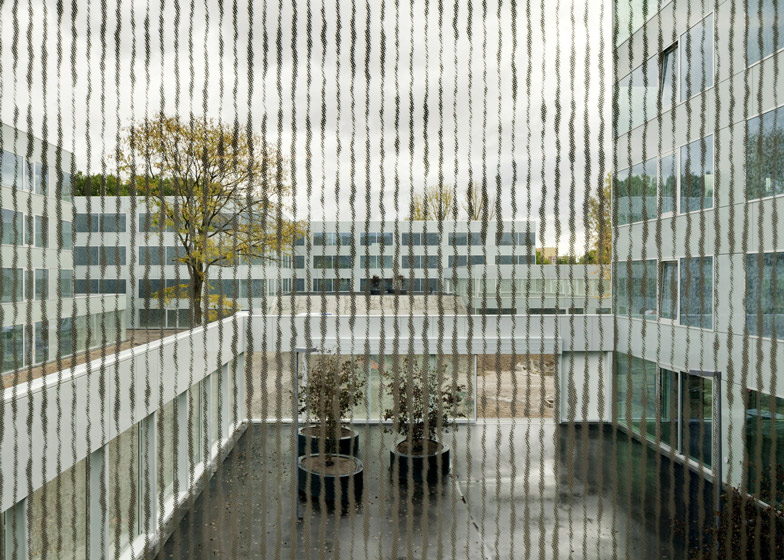 Wiel Arets completes college campus in Rotterdam's Hoogvliet district
