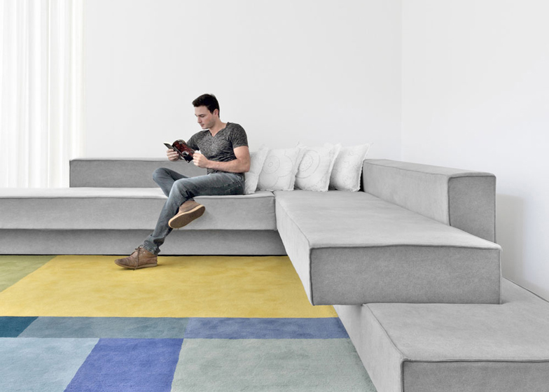 2 Of 5; Cantilevered Sofa By Paulo Kobylka