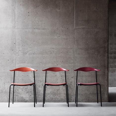 Hans J. Wegner's CH88 chair put into production by Carl Hansen & Son