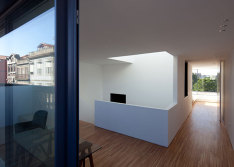 Casa da Maternidade by Pablo Pita Architects is a renovated Porto townhouse