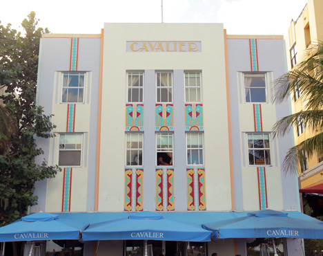 Cavalier hotel in South Beach, Miami