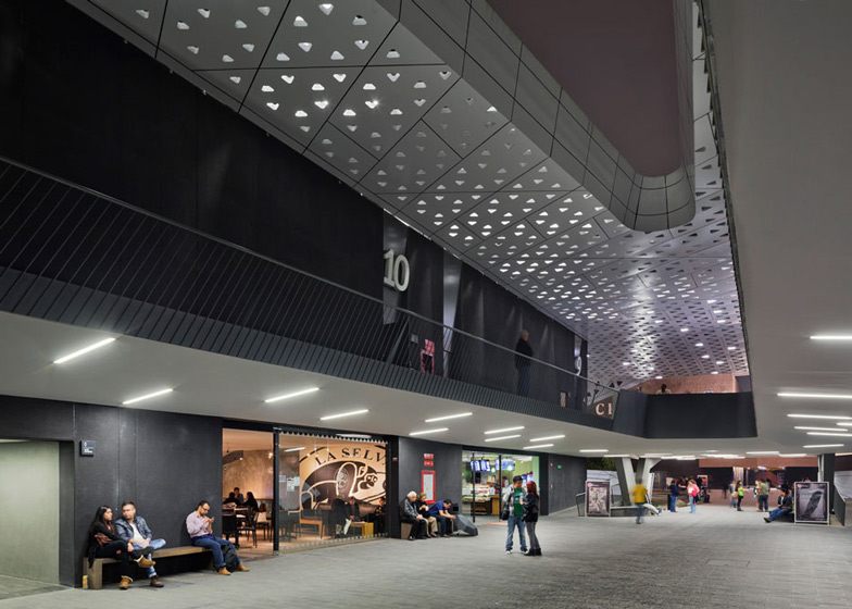 Cineteca Nationale by Rojkind Arquitectos
