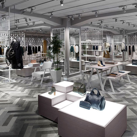Nendo styles Tokyo department store like a European park