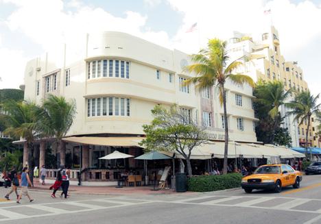 Cardozo hotel in South Beach, Miami