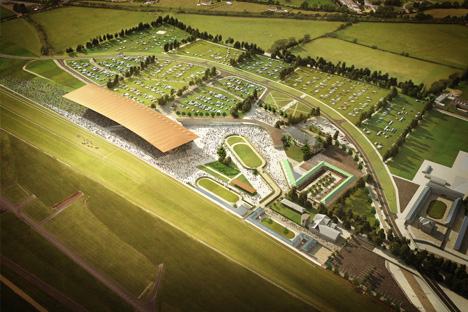 Grimshaw to design grandstand and masterplan for The Curragh Racecourse, Ireland