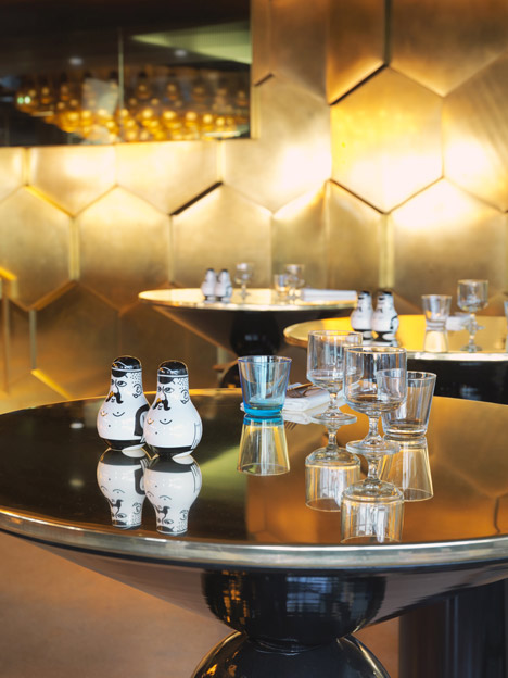 Tom Dixon completes Éclectic restaurant in Paris