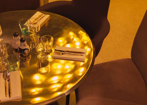 Tom Dixon completes Éclectic restaurant in Paris