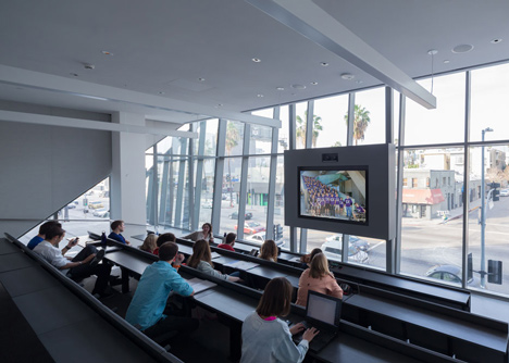 Emerson College Los Angeles by Morphosis