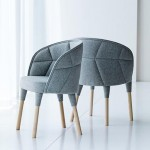 Färg & Blanche designs quilted Emily chair for Gärsnäs