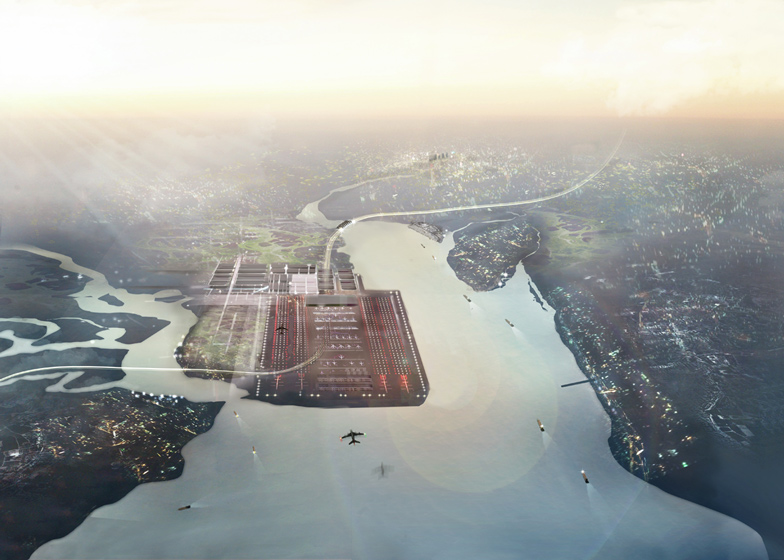 3: Thames Hub by Foster + Partners