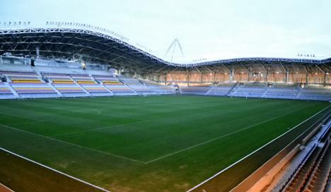 FC BATE Borisov Arena by Ofis Arhitekti