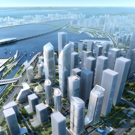 Farrells to masterplan two sites in Shenzhen's Qianhai financial district