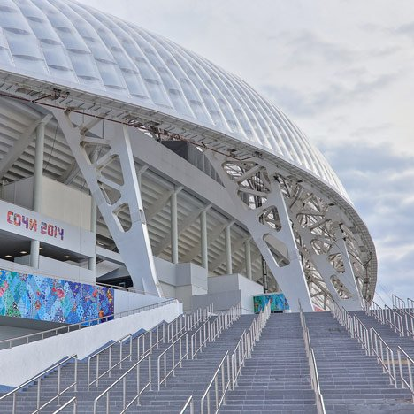 Sochi Winter Olympics commence inside Populous-designed stad