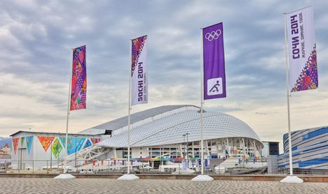Fisht Olympic Stadium by Populous for Sochi 2014 winter games