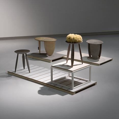 Animal membrane products on show in Formafantasma exhibition