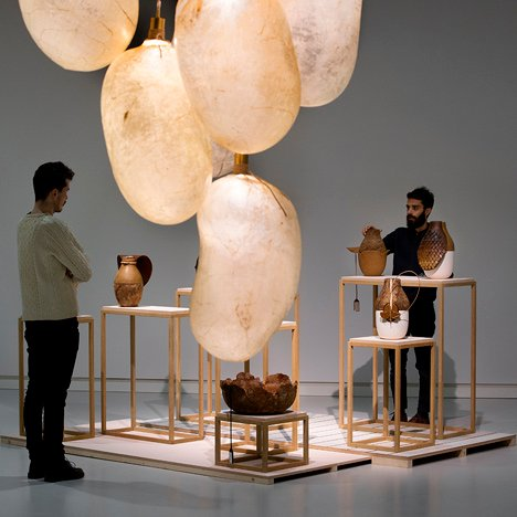 Design made of animal products on show<br /> in Formafantasma exhibition
