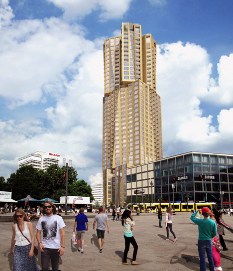 Frank Gehry designs Berlin's tallest skyscraper