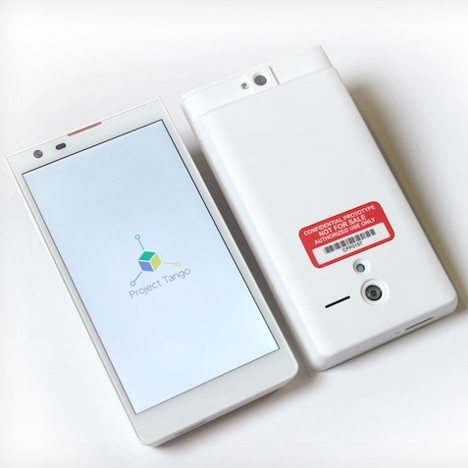 Google's 'Project Tango' uses phones to map your home