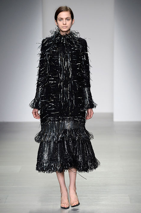 Graham Fan Central Saint Martins graduate collection 2014