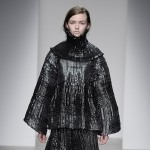 Graham Fan's graduate fashion collection evokes metallic pan scourers