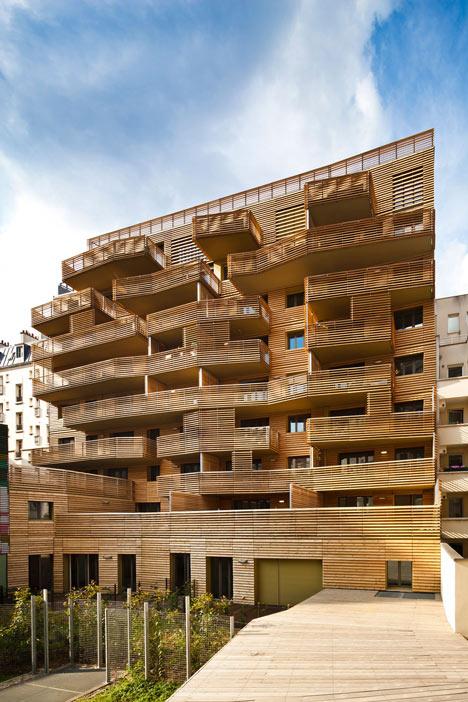 Périphériques upgrades Paris plot with contrasting apartment blocks and a colourful kindergarten