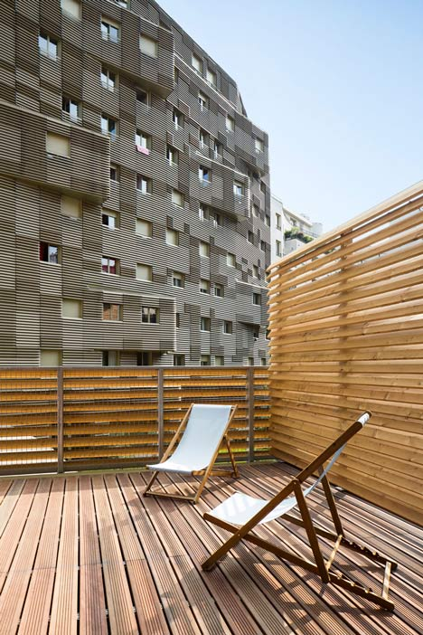 Périphériques upgrades Paris plot with contrasting apartment blocks and a colourful kindergarten