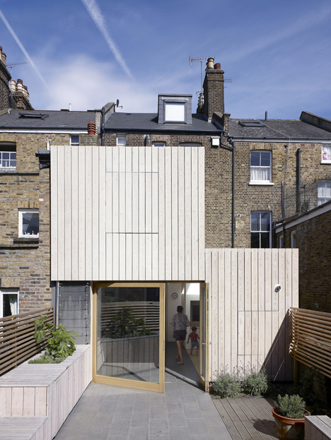 Hayhurst and Co. adds beach house-inspired extension to London residence