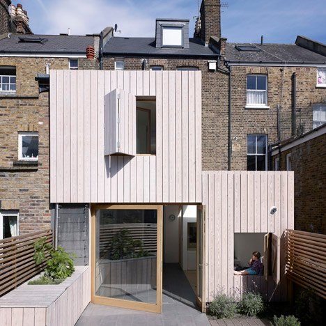 Hayhurst and Co adds beach house-inspired extension to London residence