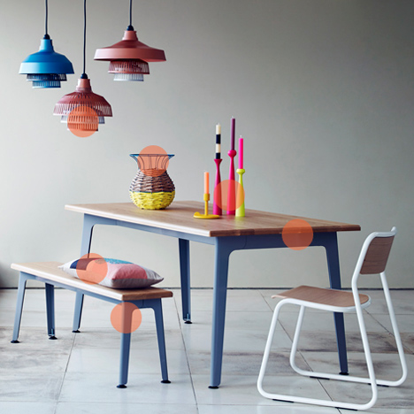 Heal's Spring 2014 furniture collection