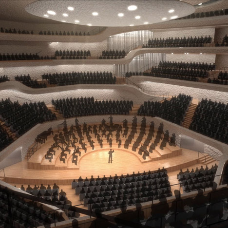 Interactive model offers a look inside Herzog & de Meuron's Elbphilharmonie