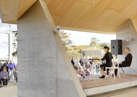Home For All in Kesennuma by Kazuyo Sejima and Yang Zhao