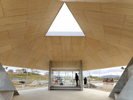Home For All in Kesennuma by Kazuyo Sejima and Yang Zhao