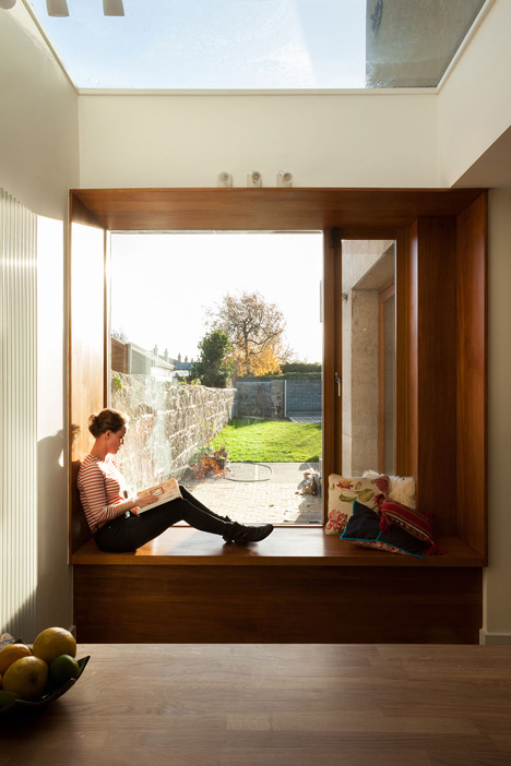 Fabulous House Extension By Gkmp Architects Includes A Wooden Window Seat Ncnpc Chair Design For Home Ncnpcorg