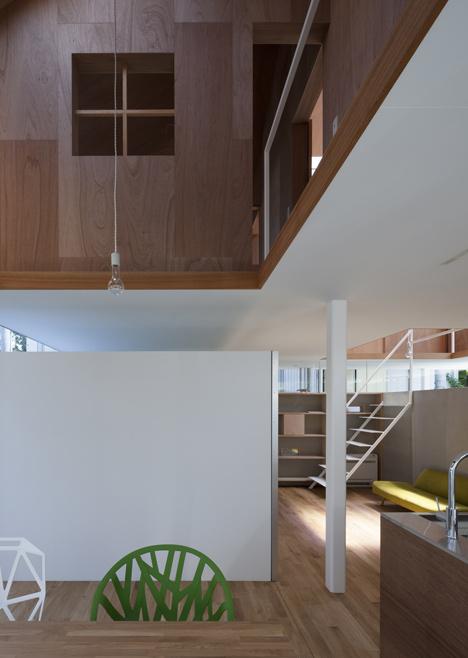 "House in Kawanishi by Tato Architects based on Australia's ""Queenslander"" dwellings"