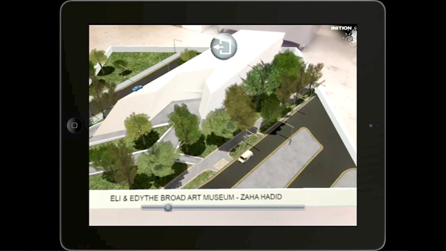 Inition augmented reality architecture installation for Zaha Hadid