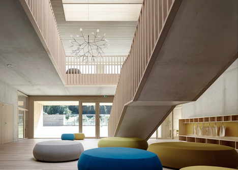 Kindergarten Susi-Weigel by Bernardo Bader Architects