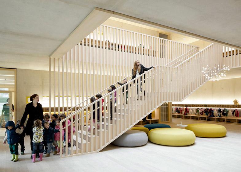 Kindergarten Susi-Weigel by Bernardo Bader Architects