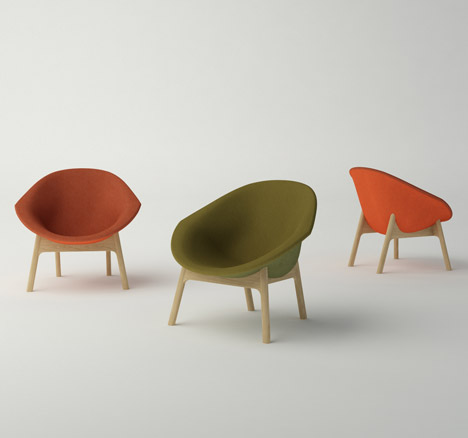 Lily Chair by Modus