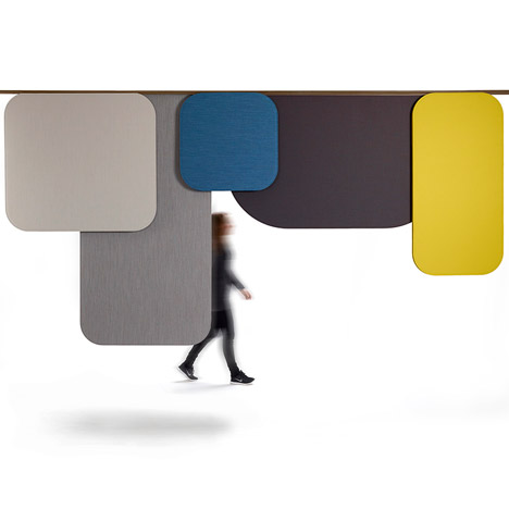 Luca Nichetto Notes room dividers for Offecct