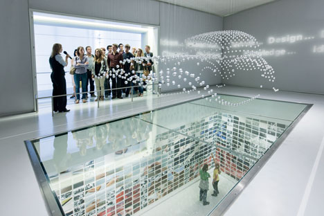 Installation at the BMW Museum in Munich