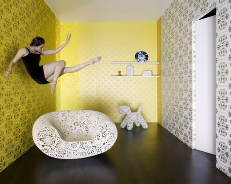 Marcel Wanders Pinned Up Stedelijk Graham-Brown-Couture-Stella-Grace-Yellow
