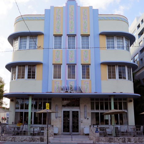 Marlin hotel in South Beach, Miami