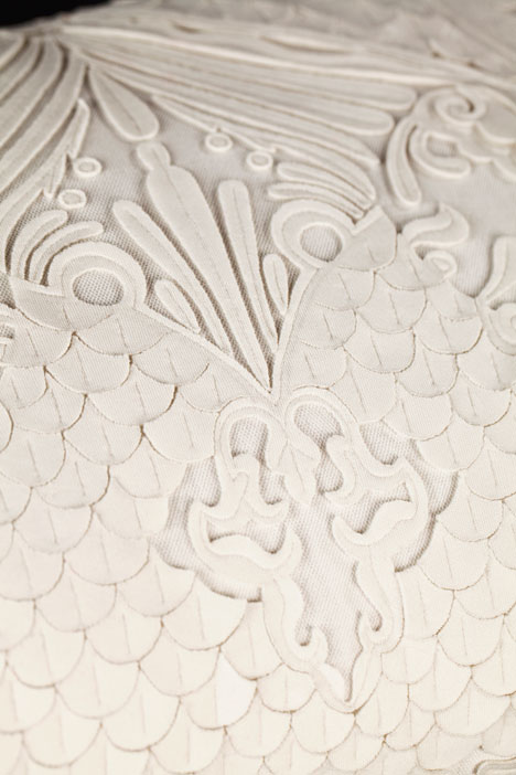 Material detail at BE OPEN Made In India exhibition